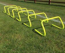 "Set of 1 2 3 4 6 10 Agility Hurdles 9"" Football Speed & Agility Training"