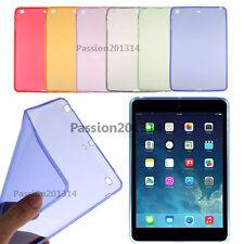 Ultra Thin Soft Clear TPU Case Cover For Apple iPad 2 3 4 mini 1 2 3 4 air 1 2