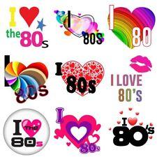 Me encanta el 80s Vintage 80s flash back Hierro en T-Shirt transferencia de calor 6021740 ®