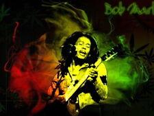 61737 Bob Marley Sepia Music Wall Print Poster CA