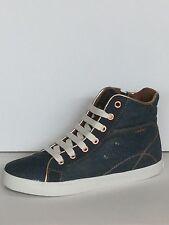 GEOX J Kiwi G.A Jeans Turnschuhe  High Top Sneaker 36-41
