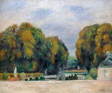 Renoir 1900, Versailles, Fade Resistant HD Art Print or Canvas