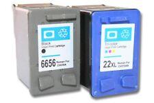 2St. original vhbw® Drucker Patronen für HP 56xl 22xl Officejet 5605z 5608 black