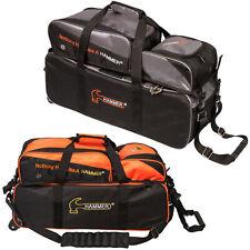 Bowling Ball Tasche Hammer Triple Tote, 3 Ball Roller, mit Bag für Bowlingschuhe