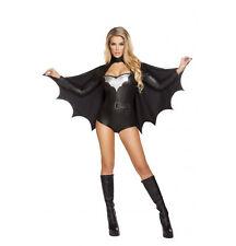 Sexy Night Vigilante 4596 Bat Woman Sexy Roma Costume Halloween Removable Cape