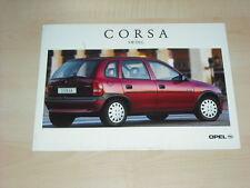 36362) Opel Corsa B Swing Polen Prospekt 199?