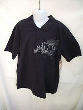 BNWT Boys Mongoose Brand Navy Short Sleeve Navy Polo Tee Sizes 7 8 9 10 12 14