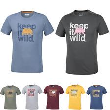 COLUMBIA Box Logo Bear Running Training T-Shirt Short Sleeve Tee Mens All Size