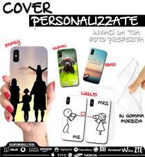 COVER PERSONALIZZATA + PELLICOLA VETRO TEMPERATO PER MOTOROLA E5 PLUS/ G6