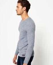 Superdry Hombre Jersey de cuello redondo University Liner Mariner Grit