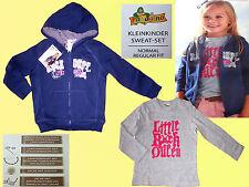 Kleinkind Mädchen Set Jacke & Langarmshirt Sweat  Strickjacke Shirt 74-104 NEU