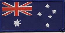 LONGER  4 inch AUSTRALIAN FLAG IRON ON BUY2 GET 1 FREE