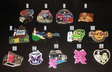 Various Lapel Pins - Nhl, Nba, Nfl, Mlb, Ncaa, Olympics, Star Wars, Collectors!