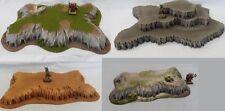 Wargaming Hills Scenery Terrain Suitable For Warhammer, Warmachine, Malifaux