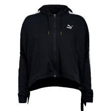 Puma Women's HEART T7 Track Jacket Black/White 573041-01 a