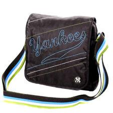 Mens Messenger Bags NY New York Yankees Pouch Black Cross Body Bag Man Bag BLACK