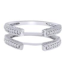 IGI Certified 2/7 Ct Round Diamond Enhancer Engagement  Ring 14k Gold