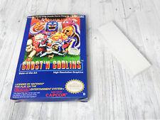 Boite NES / Box (+ extras) : Ghost'n Goblins