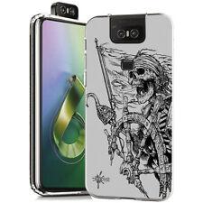 Custodia Cover Morbida INKOVER per Asus ZenFone Pirates 3 Skeleton Hook Style