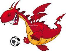 Sticker enfant Dragon réf 927 (Dimensions de 10 cm à 130 cm de largeur)