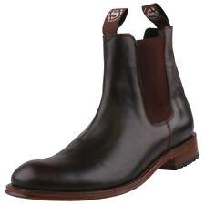 NUEVO Sendra Zapatos De Cuero Botines zapatos 5595 Marrón