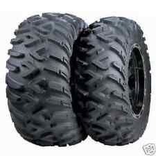 Set (2) 25-10-12 & (2) 25-8-12 ITP TerraCross R/T H-D XD ATV Tires Terra Cross