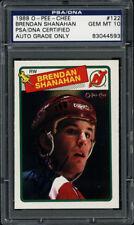 1988-89 O-Pee-Chee #122 Brendan Shanahan PSA/DNA Gem 10