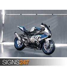 BMW HP4 (1515) Motorbike Poster - Photo Picture Poster Print Art A0 A1 A2 A3 A4
