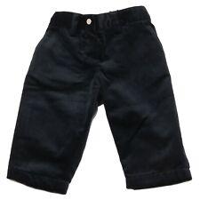 5774U pantalone bimbo DOLCE & GABBANA JR velluto blu pant boy