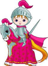 Adesivo murale bambino Cavaliere da cavallo ref 3605 (30 dimensioni)