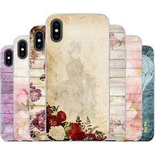 dessana Romantische Blumen Muster TPU Silikon Schutz Hülle Case Handy für Apple