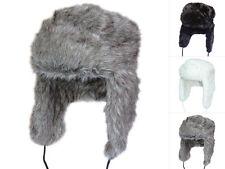 CI tschapka Russian style invierno gorro gorro blanco y negro gris M-XL