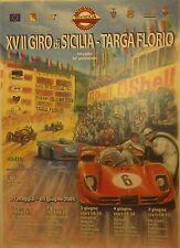 Orig.Giro di Sicilia 2005 Targa Florio Poster FERRARI PORSCHE Mille Ferreyra