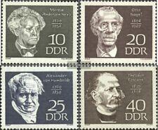 DDR 1440-1443 (kompl.Ausgabe) gestempelt 1969 Persönlichkeiten