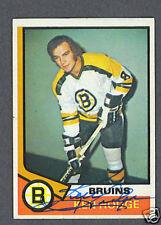 Ken Hodge Bruins signed 1974-75 Topps hockey card