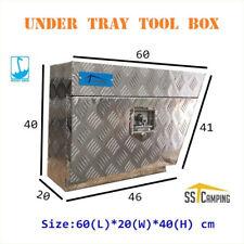 F/P L/R Side Under Tray Body Toolbox Aluminium Underbody Tool Box 60 20