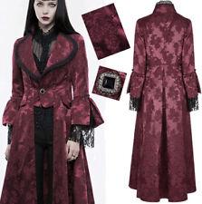 Manteau gothique lolita baroque victorien satin jacquard dentelle Punkrave R