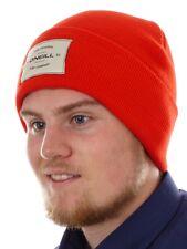 O'Neill Beanie Couvre-chef Bonnet tricoté rouge tmepiece Mailles fines chaud