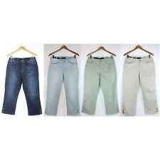 NWT Nine West Stylist Jeans Bling Karen Floral Capri Women Pants 4 Colors 4-16