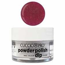 Cuccio Pro Powder Polish Acrylic Dipping Powder - Fuchsia W Rainbow Mica 14g/45g