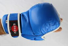 Kanku MMA Blue Training Sparring Grappling Gloves Kick Boxing Muay Thai Training
