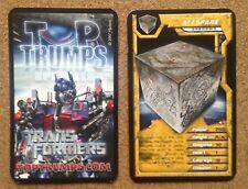 TOP TRUMPS Single Card TRANSFORMERS Alien Robots - VARIOUS