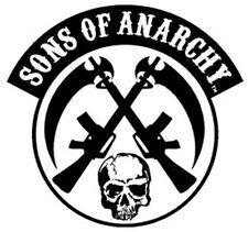 SONS OF ANARCHY SOA SKULL GUNS BIKER PATCH