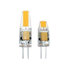 LED G4 COB 1W & 1,6W 12V warmweiß 2700K klar Ersatz für Halogen 10W & 20W 360°