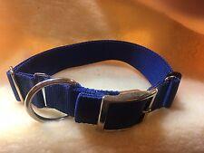 1.5 Adjustable Double Bar Metal Buckle Dog Collar USA Strong Carter Pet Supply