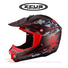 ZEUS ZS-906 ZS-906D ZS-907C Motocross Motorcycle Off Road Helmet DOT Approved