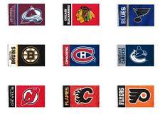 NHL 3' x 5' Team All Pro Logo Flag By Fremont Die Select Team Below
