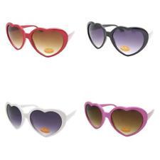 forma de corazón Gafas de sol Retro Vintage Lolita NUEVO UV400 Rosa Rojo