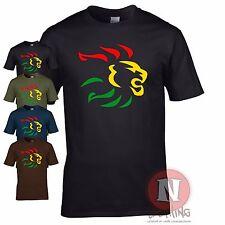 Reggae lion t-shirt dub ska skanking roots club music festival cool Tshirt
