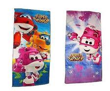 Serviette Super Wings pour Enfants Dizzy Donnie Jett 100% Coton de Toilette Neuf